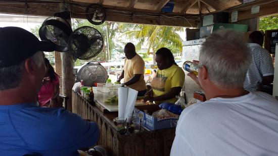 Bimini: Conch Shack for BEST conch salad