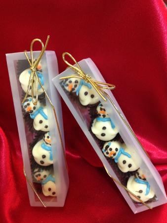 Chocolat: Snowman Truffles