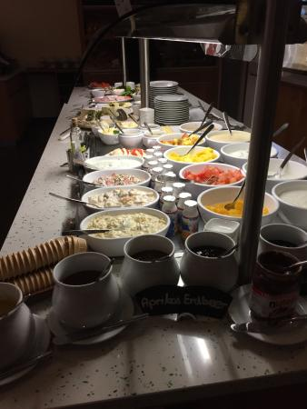 Park-Hotel Hübner: Frühstücksbüfett