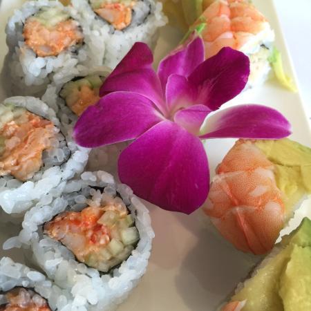 Sapporo Japanese Restaurant: Camp Davis and Florida Rolls