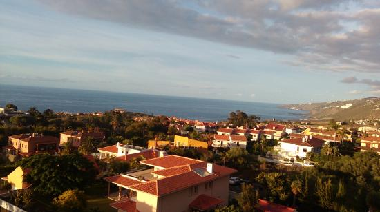 Santa Ursula, สเปน: Widok z balkonu