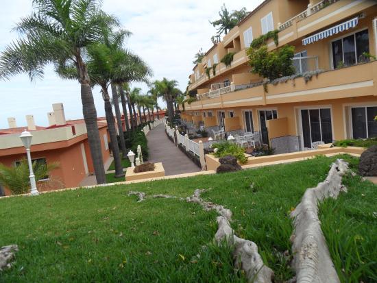 Санта-Урсула, Испания: Hotelowe bungalowy i mini golf
