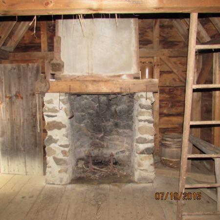 fireplace and loft - Picture of Salem 1630: Pioneer Village, Salem ...