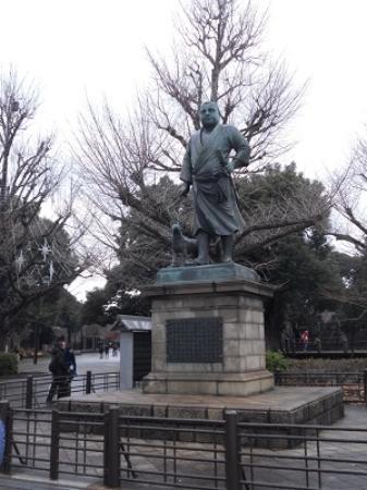 勇ましいお姿です - Picture of Saigo Takamori Statue, Taito - TripAdvisor