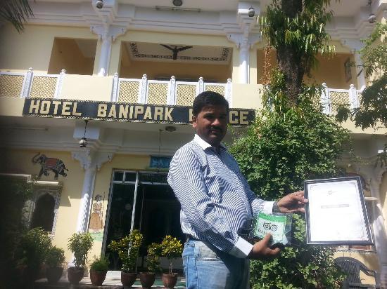 Hotel Bani Park Palace: 20151024_125723_large.jpg