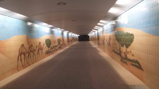 Corniche Underpass For Pedestrians Picture Of Abu Dhabi