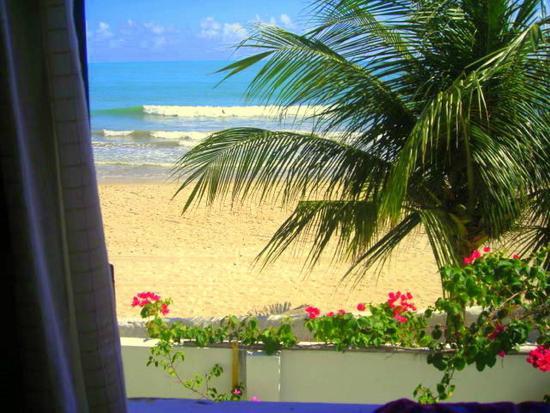 Pousada Chez Roni: Vista para o mar