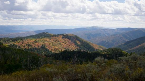 Payson, UT: panaromic view of nebo loop region