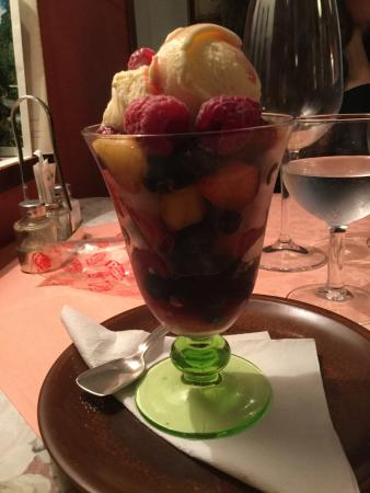 Ristorante Gambero Rosso : Coupe fruits rouges