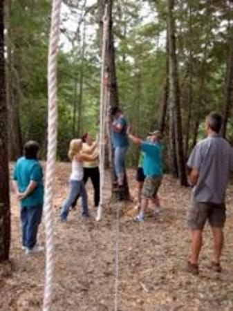 Bolivar, Πενσυλβάνια: High/Low Element Ropes Course