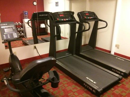 Quality Inn & Suites in Gettysburg: Fitness room