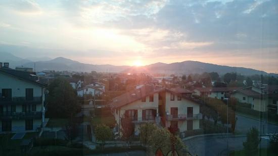 Hotel Executive: View from Executive Hotel Bergamo