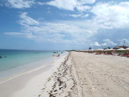 Secrets Playa Golf Spa Resort Beach Looking Towards The