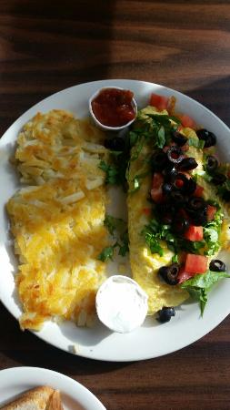 Morgan's Country Kitchen: Taco omelet