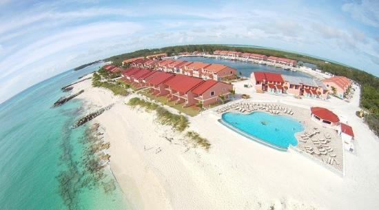 Bimini Sands Resort and Marina: Aerila view