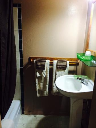 Delhi, NY: Standard room bathroom