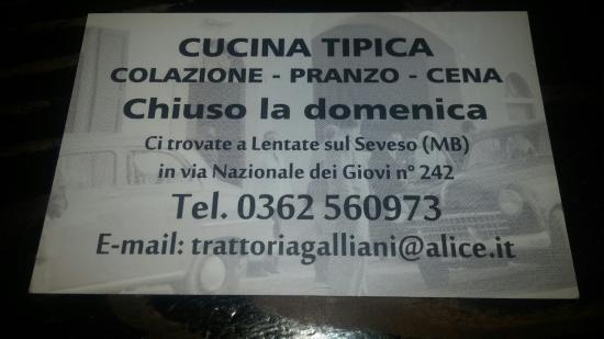 Trattoria caipirinia lentate sul seveso ristorante for Boffi cucine lentate sul seveso