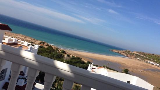 Tangier Morocco Hotel Balcony View