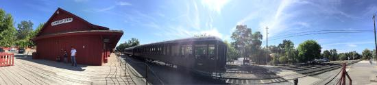 Jamestown, CA: We didn't get the chance to ride the train... we'll come back for sure.