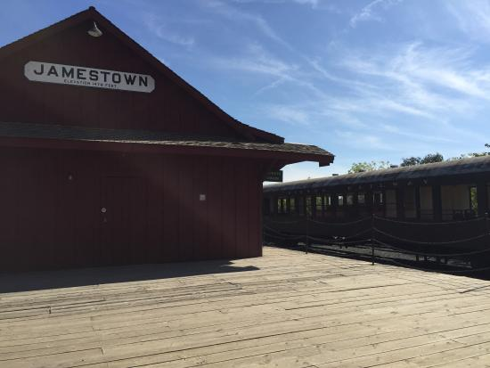 Jamestown, Kalifornia: We didn't get the chance to ride the train... we'll come back for sure.