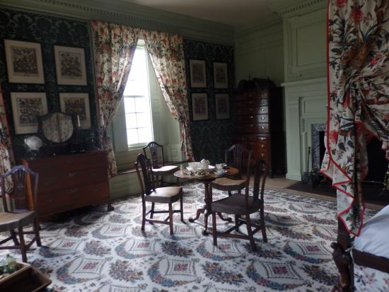Schuyler Mansion : Maj. Gen. Schuyler's bedroom