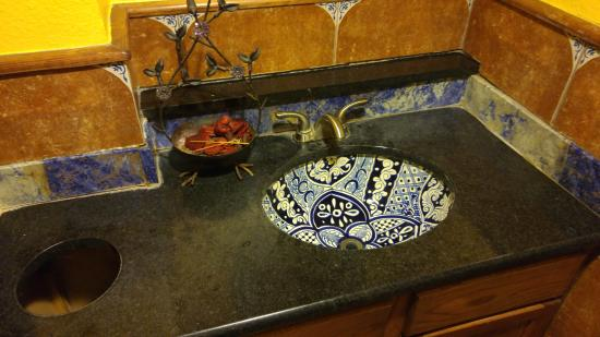 Bathroom Sink Picture Of Tilo Tex Mex Mexican Restaurant San - Restaurant bathroom sinks