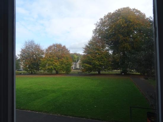 Kendal, UK: View of rear garden