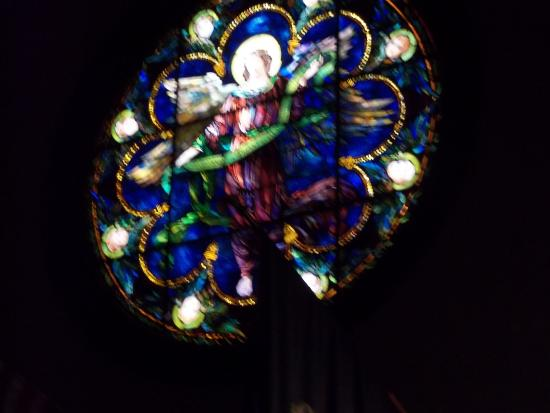 St. Saviour's Church : : Stained glass