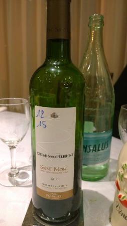 Hôtel de la Vallée : il camino del pellegrino un buon vino