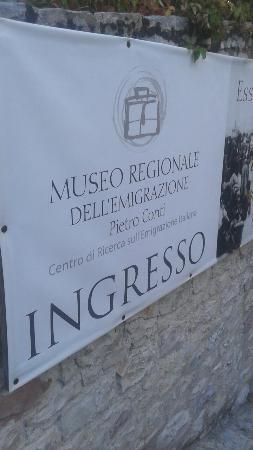 Gualdo Tadino, Italy: Museo Regionale dell'Emigrazione Pietro Conti