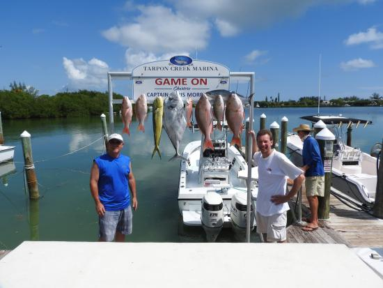 Capt Chris Morrison Fishing Charters: GAME ON CHARTERS