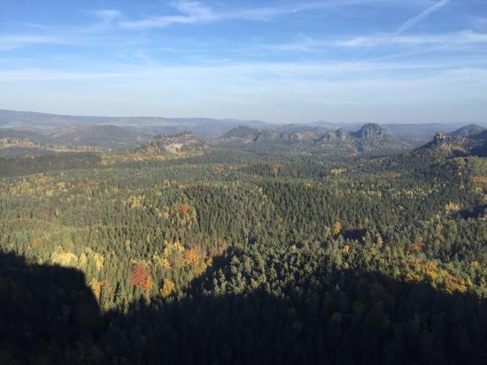 Beeindruckende felsformationen picture of elbe sandstone mountains