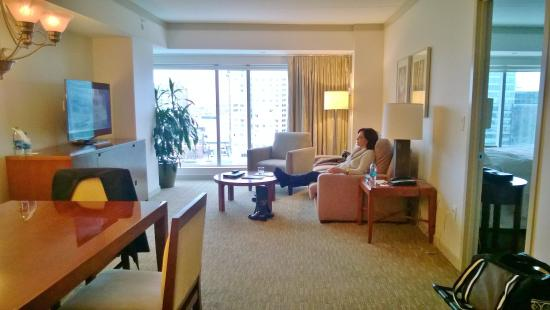 Our 26st Wedding anniversary at The Westin Waterfront in Boston