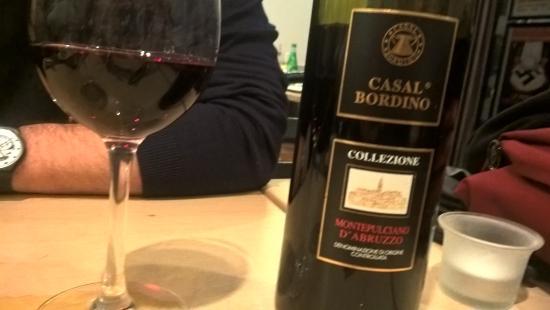 Pizzeria Mirante : Bom vinho a 18 euros a garrafa