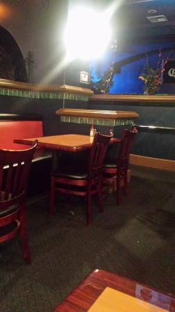 Caliente Mexican Bar & Grill: Bar / Dining area