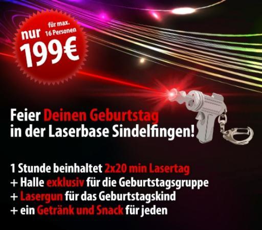 Laserbase Sindelfingen: Unser Geburtstagspaket für euch
