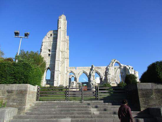Ruines de l'Eglise d'Ablain-Saint-Nazaire: Ruins