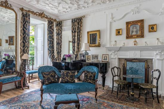 Clonegal, Irland: Blue Drawing Room