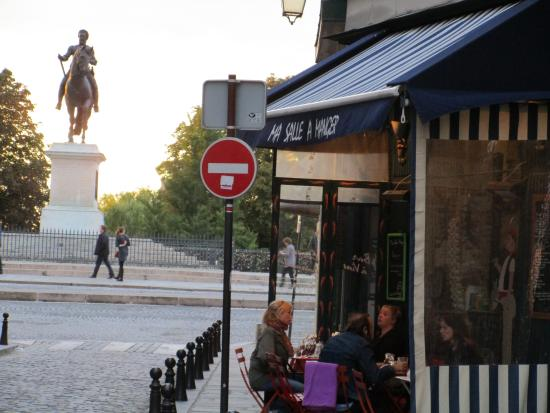 Exterior picture of ma salle a manger paris tripadvisor for Ma salle a manger