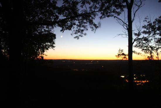 Talcott Mountain State Park - Sunset