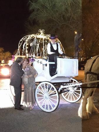 Sentinel Carriage Company: 50th Wedding Anniversary Celebration