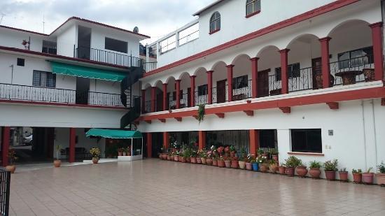 Hotel Del Carmen: Es lo único bonito del hotel