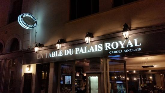 Outside Picture Of La Table Du Palais Royal Paris Tripadvisor