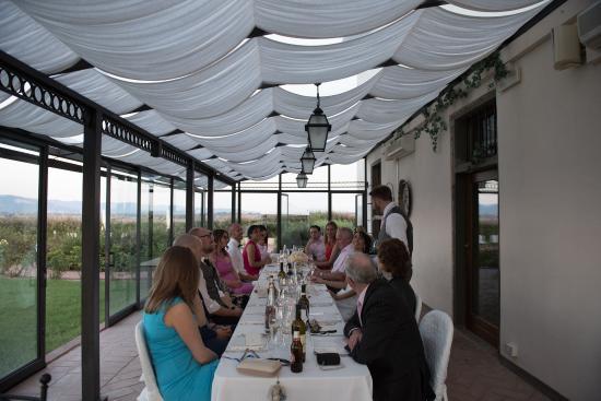Brolio, Italië: conservatory