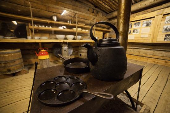 Lapland Forestry Museum: Kitchen stuff used by lumberjack people