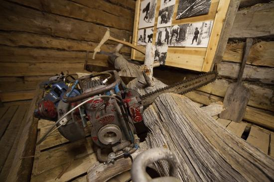 Lapland Forestry Museum: Some tools of the lumberjacks