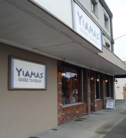 Yiama's Greek Taverna : Yiamas Greek Taverna EXTERIOR