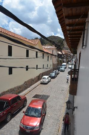 Andenes al Cielo: The street view from our room.