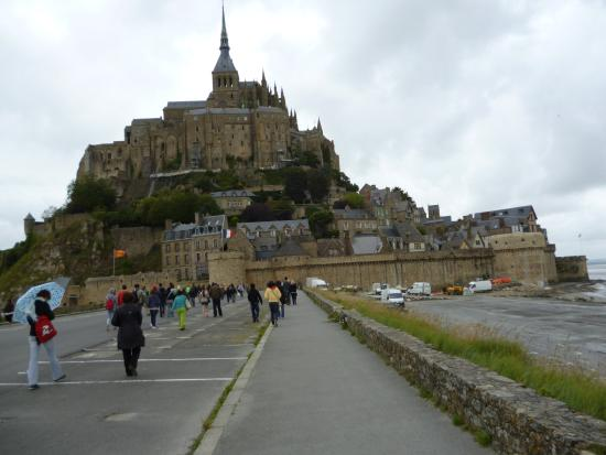 Finistere, Fransa: Vista próxima ao Mont Saint Michel.