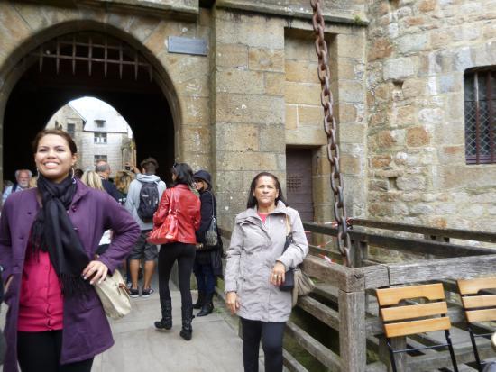 Finistere, Fransa: Entrada frontal ao Castelo.